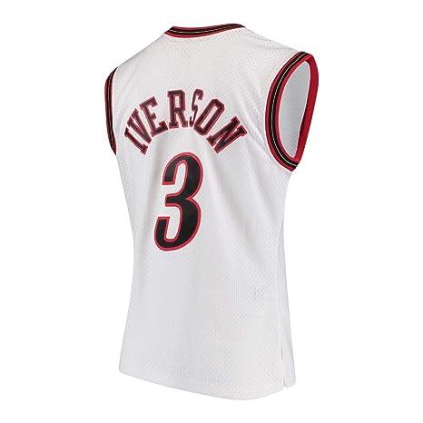 Amazon.com   Mitchell   Ness Allen Iverson 2000-01 Philadelphia 76ers Home Swingman  Jersey   Clothing 4e433db63