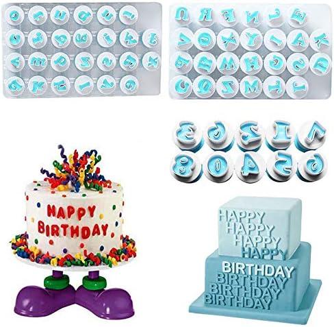 26PCS Plastic Alphabet Cookie Cutter Letter Biscuit Fondant Mold Cake Decorating