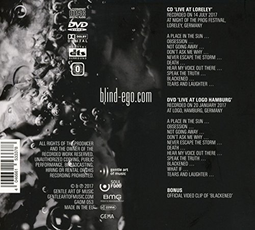 Liquid Live Cddvd Blind Ego Amazonde Musik