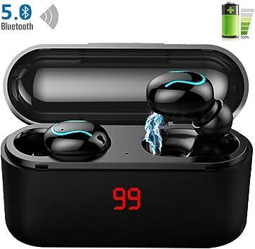 LTPAG HD Auriculares Inalámbricos Bluetooth, Hi Fi 8D
