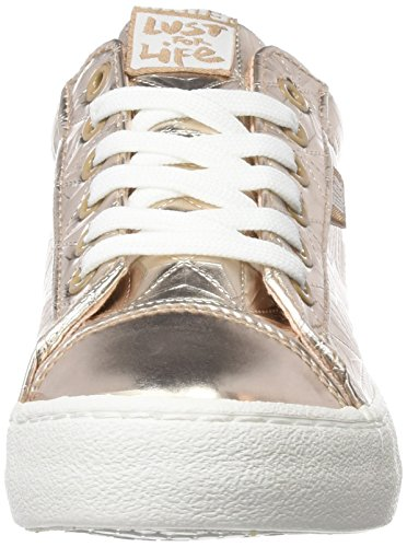 para Metal MTNG Beige Metal Triangle Zapatillas Nude Nude Mujer Rolling wEC4qrCX