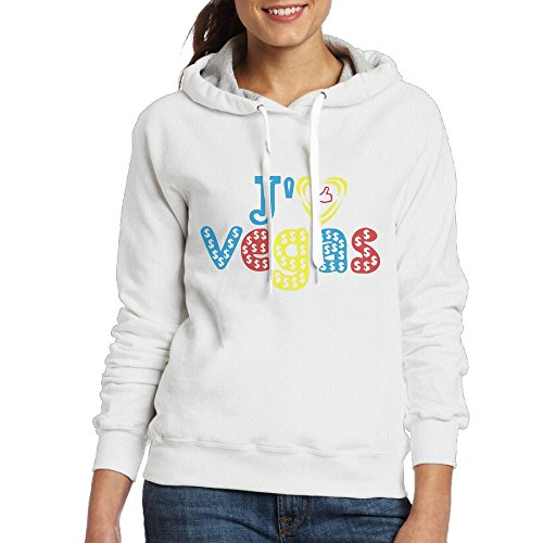Aohaiqul Aohaiqulj'aime Las Vegas Pop Art Women's Hooded Sweater Size XL Color White Is Your Sweater, Winter Is The Best Choice. Beautiful, Comfortable, - North Outlets Vegas