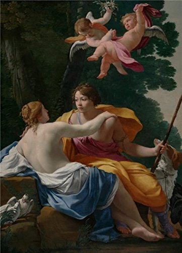 oil-painting-venus-and-adonis-about-1642-by-simon-vouet-printing-on-high-quality-polyster-canvas-24x