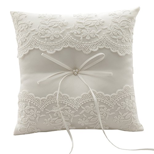 Lace Wedding Ring Pillow - Rimobul Wedding Ring Pillow 7.9