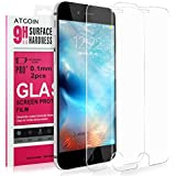 iPhone 6S Screen Protector, ATGOIN Tempered Glass Screen Protector (2016 Release) For iPhone 6 6S [3D Touch Compatible] 0.1mm Screen Protection Case 99% Touch Accurate[Lifetime Warranty](2-Pack) Clear