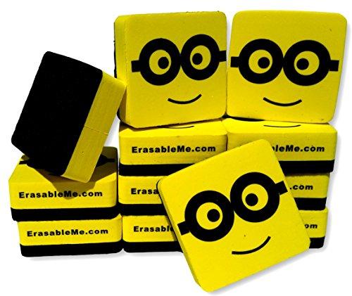 Big Bold Border (Best Magnetic Whiteboard Dry Eraser Set | 12 Pack of 2