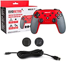 Wireless Bluetooth Controller Compatible with Nintendo Switch Pro | PC Gamepad Joypad Remote with Gyro Axis (Turbo...