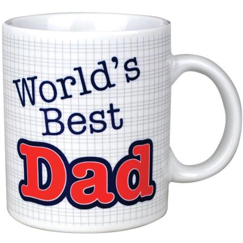 world s best dad mug fathers day gift mugs amazon co uk kitchen
