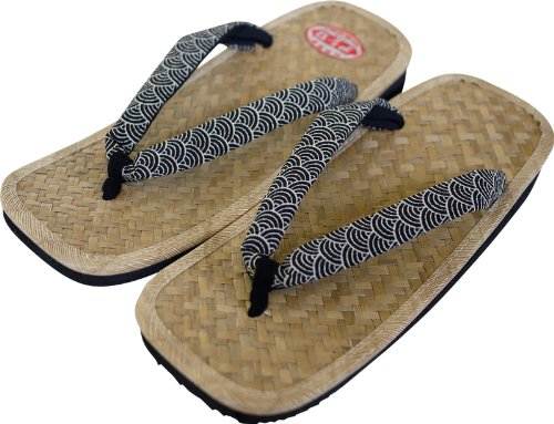 Ajiro Japanese Sandals for Men Made in Japan Setta Zori *Shoe Size of Japan* 4 1kNtHQ9m