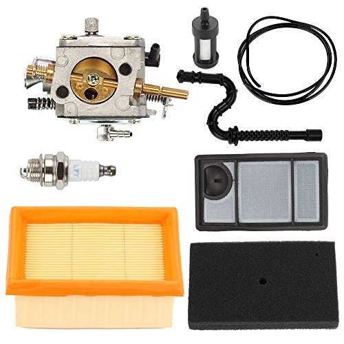 (Butom TS400 Carburetor with Air Filter Tune Up Kit for STIHL TS 400 Concrete Cut-Off Saw HS-274E)