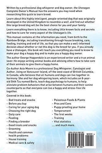 Utonagan. Utonagan Complete Owners Manual. Utonagan book for care, costs, feeding, grooming, health and training. 2