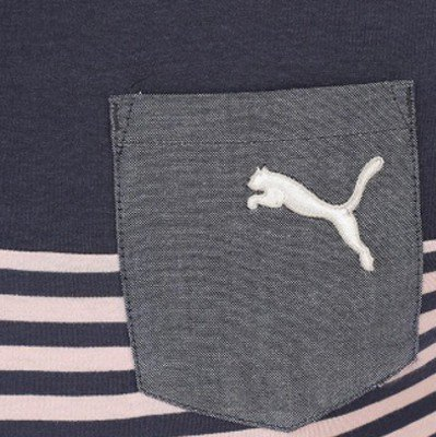 Puma heren F.CORE gestreepte polo shirt, Blue