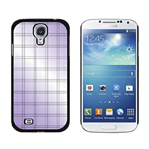 Mad for Plaid Purple - Snap On Hard Protective Case for Samsung Galaxy S4 - Black by ruishername
