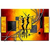Tableau contemporain danse africaine - TOP VENTE-1A-13017HX2E