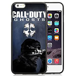 Activision Call Of Duty Ghosts Durable High Quality iPhone 6 Plus 5.5 TPU Phone Case