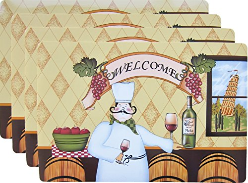 Happy Chef Vinyl Place Mats product image
