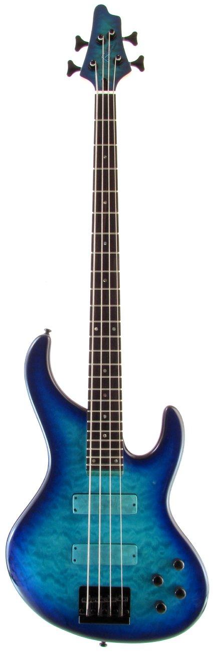 Bossa Tribute Series TOBJ-4QM/R (ABB) B006ZSXTCW  Aqua Blue Burst