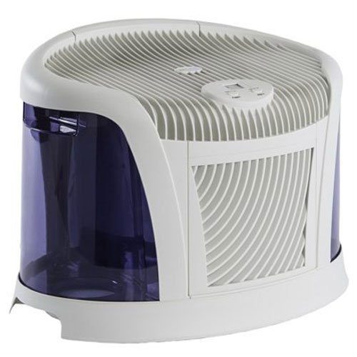 AirCare 3D6 100 Mini-Console-Style Evaporative Humidifier, White and Midnight Blue by AirCare (Image #6)