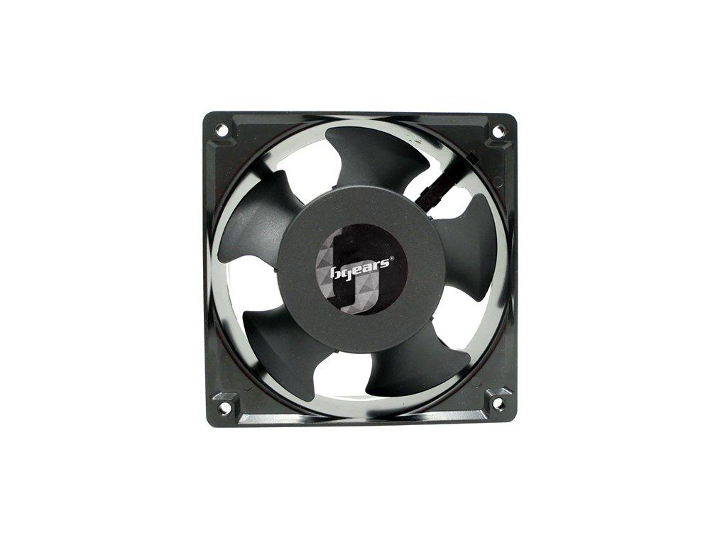 Bgears b-Blaster-AC 120x38mm AC 100-125V High Speed Extreme Airflow Cast Aluminum 2 Ball Bearing Fan