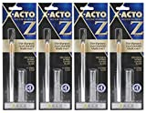 4-Pack - X-ACTO #1 Knife, Z Series with Safety Cap