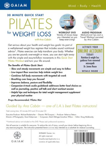 Buy pilates dvd for toning and weight loss