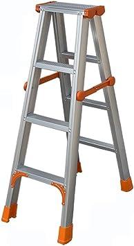 Gjrff Escaleras de mano Taburete de escalera plegable Escalera de aluminio Escalera plegable larga Escalera de ingeniería multiusos (Size : C): Amazon.es: Bricolaje y herramientas