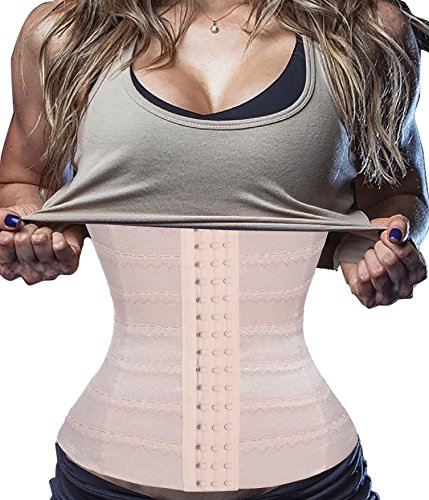 Gotoly Nicely Made,Waist Cincher Tummy Trimmer Trainers Belt Weight Loss Workout Corset (S Fits 27.5-29.9 inch Waistline, (Fur Corset)