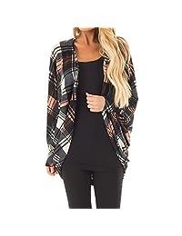 Amzeca Womens Jackets Autumn Overcoat Winter Hoodies Jackets Tops Pullovers