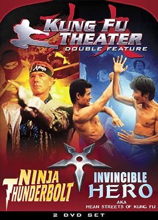 Kung Fu Theater: Ninja Thunderbolt & Invincible USA DVD ...