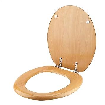 Toilettensitz, Buchenholz Toilettensitz mit verstellbaren ...