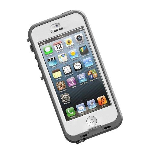 LifeProof Nüüd, wasserdichte Schutzhülle für Apple iPhone 5c ,weiß/klar