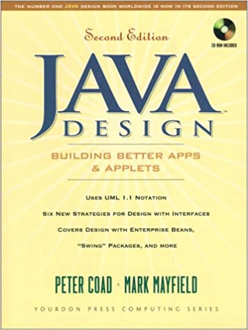 Book Java Design: Building Better Apps and Applets (Yourdon Press computing series)