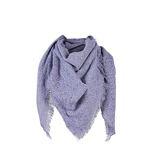 iTLOTL Womens Pashmina Shawl Wrap Scarf Solid Color Cashmere Shawl Loose Sweater