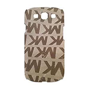 MK Logo Phone Case Simple Creative 3D Luxury Series Michanel Kors Design Cell Phone Case for Samsung Galaxy S3 I9300