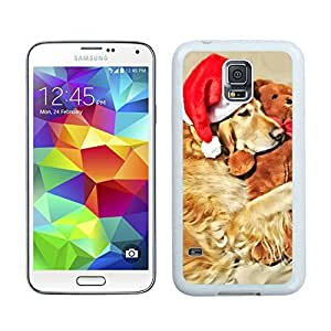 Personalize offerings Christmas Dog White Samsung Galaxy S5 Case 44 by Maris's Diary