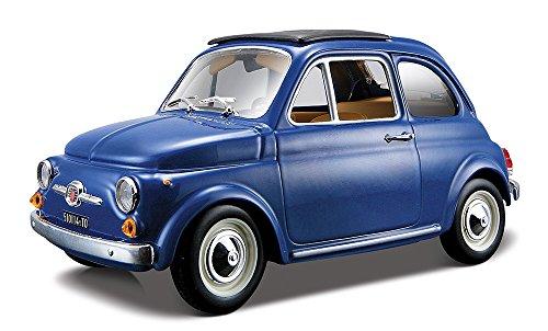 bburago-1965-fiat-diecast-model-car-124-scale-yellow