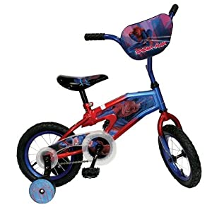 Spiderman 12-Inch Kid's Bicycle by Cycle Force Group