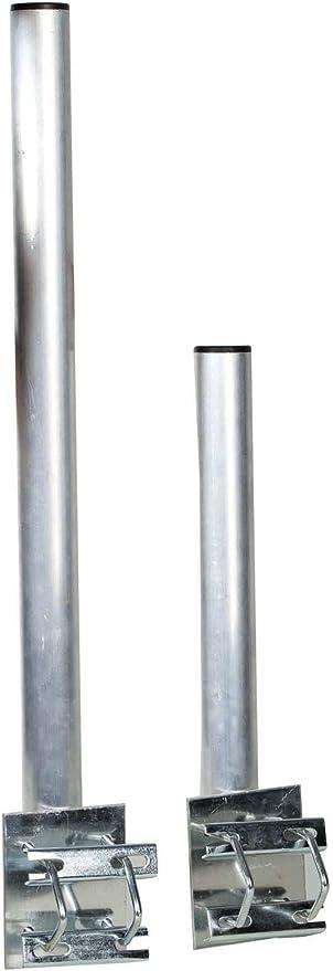 Mástil de Antena Alu tubo de 48 mm de diámetro, 50 cm de ...