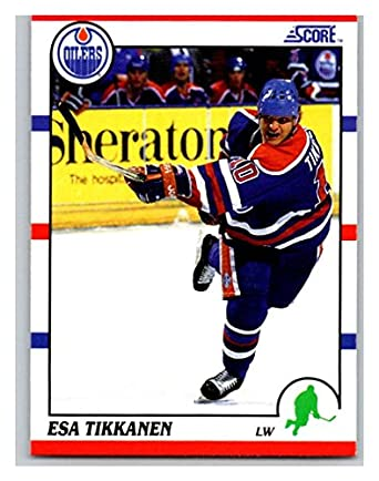 release date: 47c22 326bb Amazon.com: Hockey NHL 1990-91 Score #13 Esa Tikkanen #13 NM ...