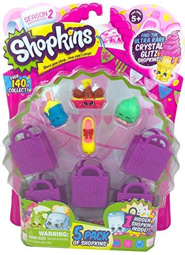 Shopkins Season 2 (5 Pack) Set 24 by Moose Toys