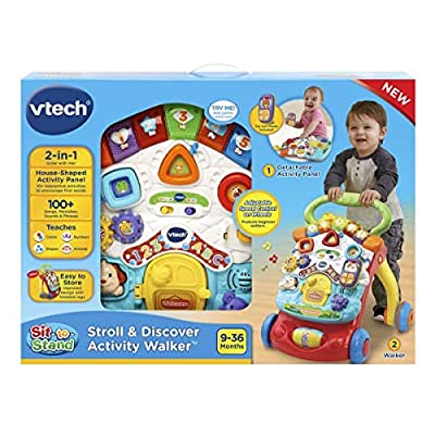 VTech Stroll & Discover Activity Walker: Toys & Games