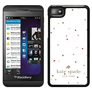 Unique And Nice Designed Kate Spade Cover Case For Blackberry Z10 Black Phone Case 208
