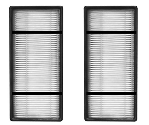 Nispira HEPA Filter Replacement Compatible with Honeywell HRF-H2 H Type. Fits Air Purifier Model HPA050, HPA150, HPA060, HPA160, HHT055 and HHT155, 2 Packs