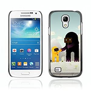 Designer Depo Hard Protection Case for Samsung Galaxy S4 Mini / Cute Characters