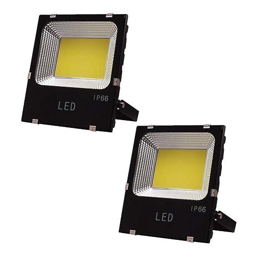 YROD LIGHT Proyector LED × 2, Luz De Inundación Seguridad Cuadrado ...
