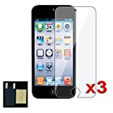 Generic Clear Screen Protector for Apple Ipod Touch 5 (5th Generation) - 3 Packs