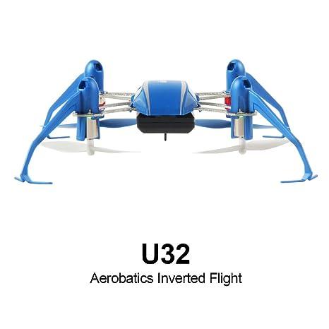 DAZHONG UDI RC Mini Quadcopter Drone Modo sin Cabeza, Truco 3D con ...