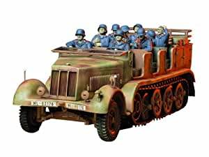 Tamiya 300035148 - Maqueta de vehículo semioruga SdKfz.7 8to (8) de la Segunda Guerra Mundial