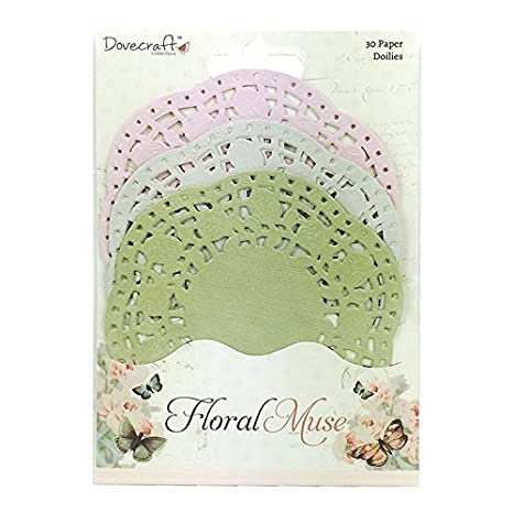 Dovecraft Floral Muse Collection - 3D Butterflies Die Cut Card Trimcraft DCTOP014