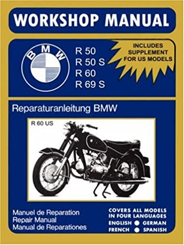 bmw motorcycles workshop manual r50 r50s r60 r69s english spanish rh amazon com mini r50 workshop manual nissan pathfinder r50 workshop manual
